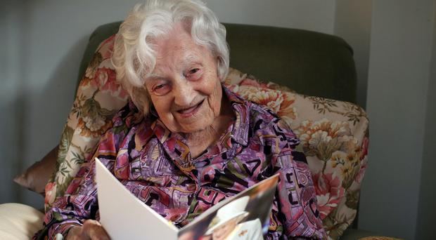 Gladys Hooper set a new world record by having a hip replacement operation at the age of 112