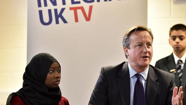 David Cameron has said the Government will provide £20 million to give Muslim women who do not speak English the chance to learn the language.
