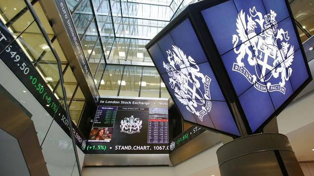 The FTSE 100 Index closed down 24.2 points at 5780