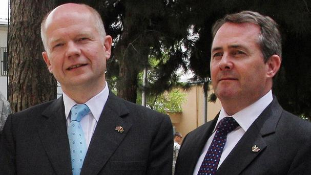 Lord Hague and Liam Fox appeared before the Foreign Affairs Committee