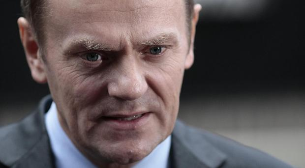 Donald Tusk said he will table a