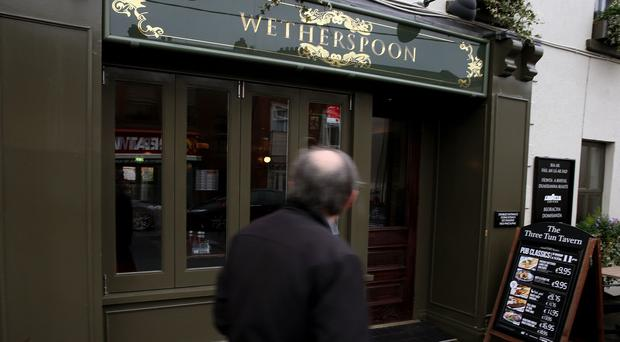 Wetherspoon said its wage bill makes up around 25%, or 75p, of every pint sold in its pubs