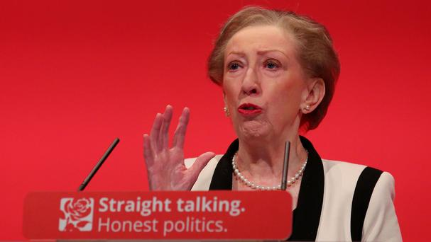 Dame Margaret Beckett says the