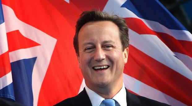 David Cameron will hold talks with political and corporate leaders in Davos