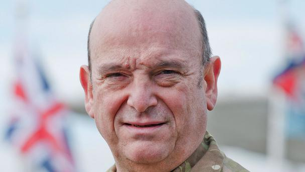 Sir Stuart Peach is expected to be named the new Chief of the Defence Staff
