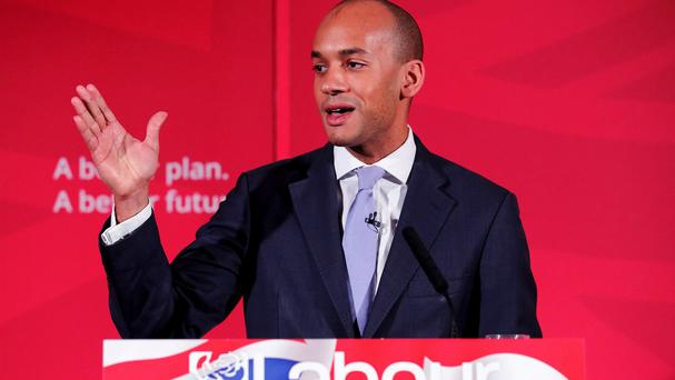 Chuka Umunna will say there is 'no glory in opposition'