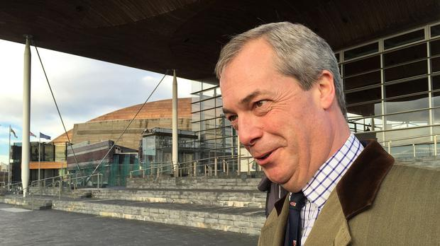 UKIP leader Nigel Farage is backing Grassroots Out