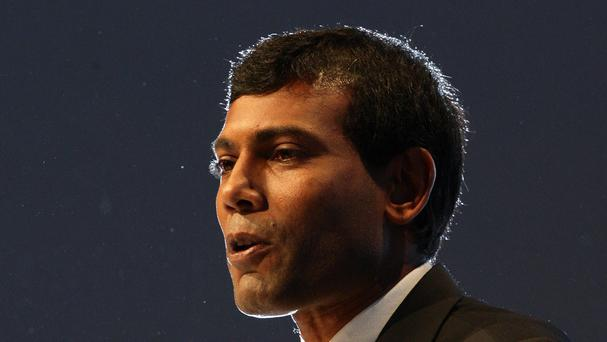 Mohamed Nasheed was ousted as president