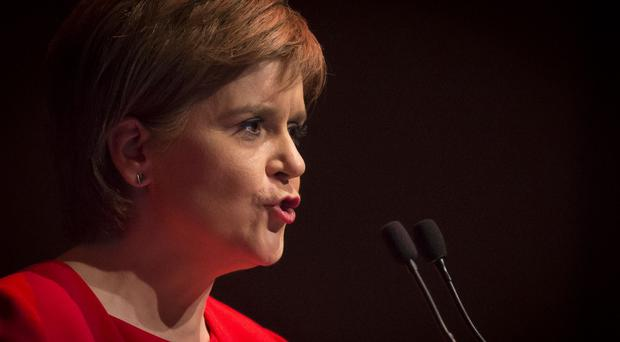The First Minister said she could not sign up to anything which disadvantages the Scottish budget