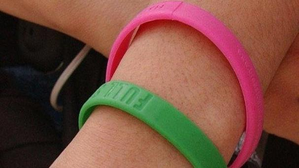 Making refugees wear wristbands has been condemned by human rights groups