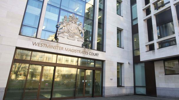 The man is due to appear before Westminster magistrates