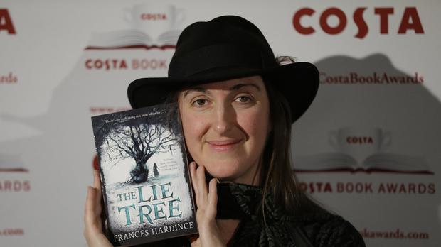 Frances Hardinge has won the Costa Book of the Year. (AP)