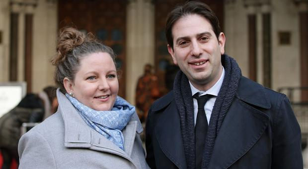 Rebecca Steinfeld and Charles Keidan want to enter into a civil partnership