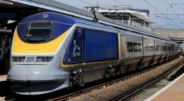 Hundreds of Eurostar passengers have been stranded because of an incident at Dagenham Dock station