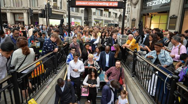 Talks are being held to head off a strike by London Underground workers