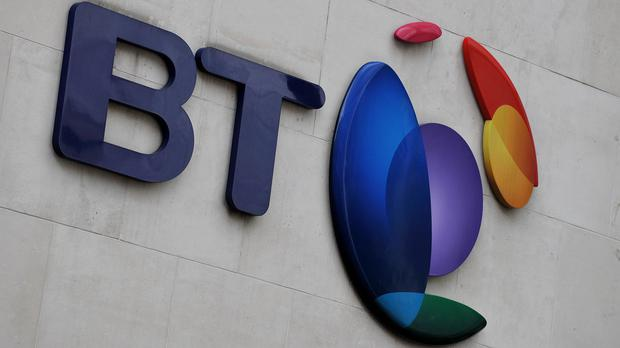 BT customers found the broadband and phone service was down across the UK