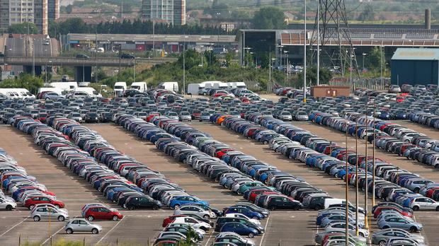 A total of 169,678 new cars were registered in the UK in January