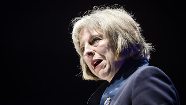 Home Secretary Theresa May said police and crime commissioners could play a major role in education