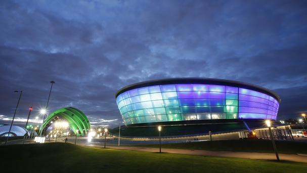 The SSE Hydro in Glasgow, where two audience members were injured when a Nitro Circus bike stunt went wrong
