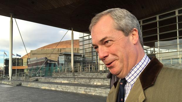 Nigel Farage was due to appear on Question Time, but tweeted that he was stuck in traffic