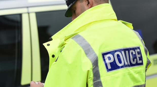 Kent Police are carrying out searches throughout the county