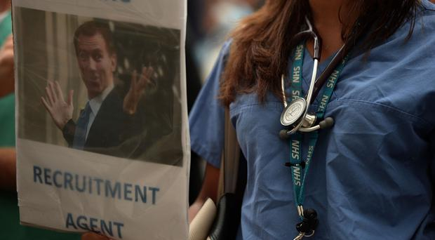 Junior doctors have held a series of protests over pay and conditions