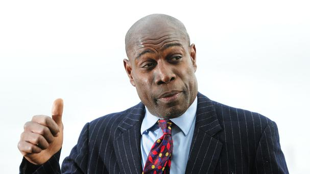 Former boxer Frank Bruno, who was crowned world heavyweight champion in 1995, has spoken of his desire to return to the ring