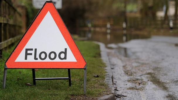 Parts of the West Country are on flood alert following heavy rainfall