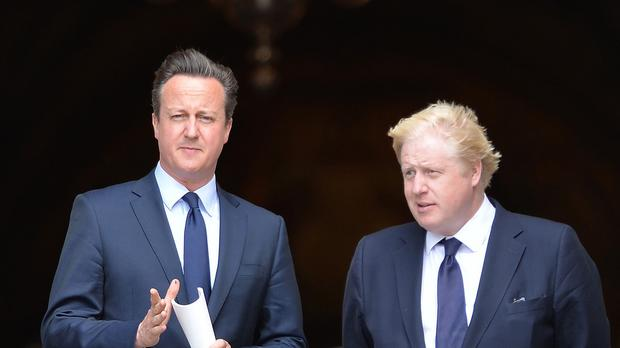 Boris Johnson questioned why David Cameron did not 'try harder' to regain control of the UK's borders.
