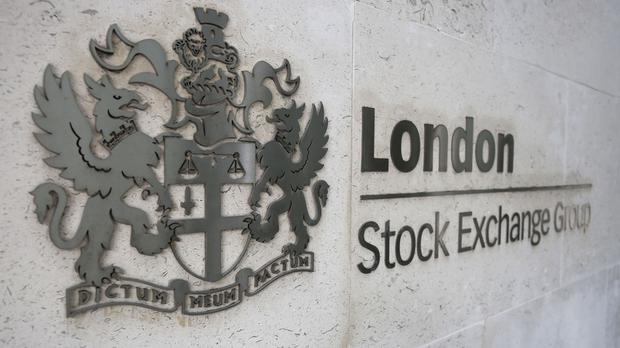 The FTSE 100 Index was down 158.7p to 5,689.3