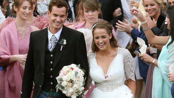 Andy Murray and Kim Sears are reportedly celebrating the birth of a baby girl