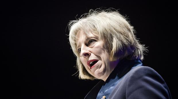 "Theresa May, the Home Secretary, argued: ""There should be no area of cyberspace which is a haven for those who seek to harm us to plot, poison minds and peddle hatred'"