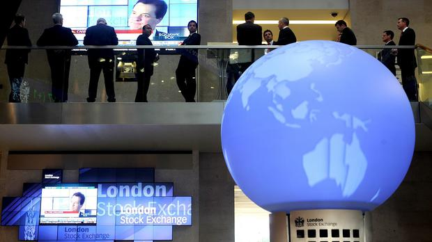 The FTSE 100 Index closed down 57.1 points to 5632.1