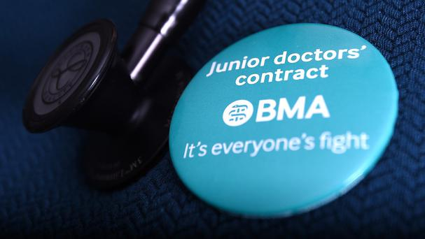 This follows a previous action by junior doctors in January