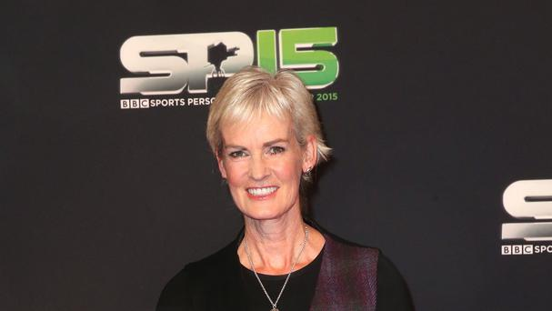 Judy Murray became a granny on Sunday