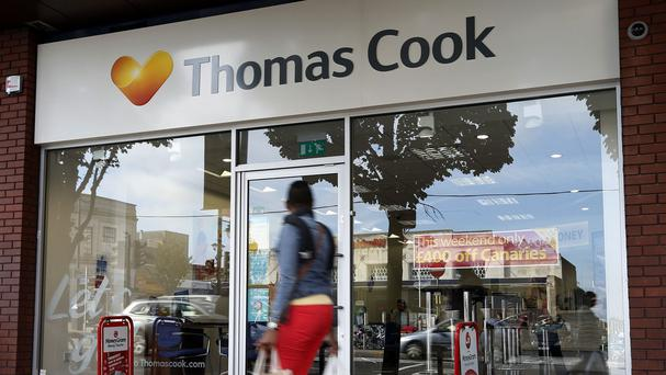 Thomas Cook said underlying operating losses improved by 11% to £49 million in the three months to the end of December