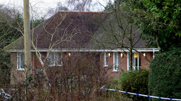Caroline Andrews died in Benenden on February 3, Kent Police said