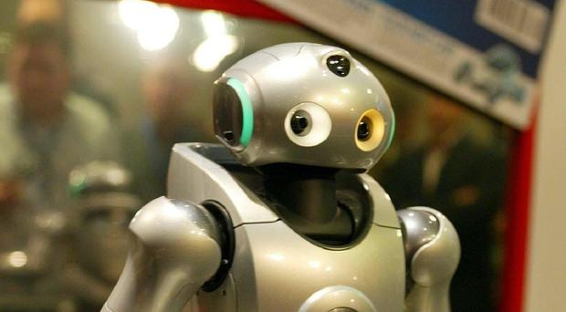 Robots could increasingly replace people in workplaces, a scientist said