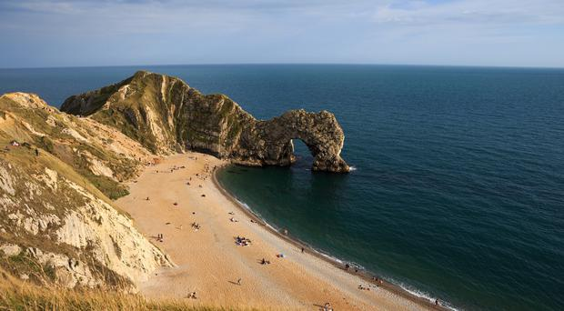 The epic walk will start at Durdle Door
