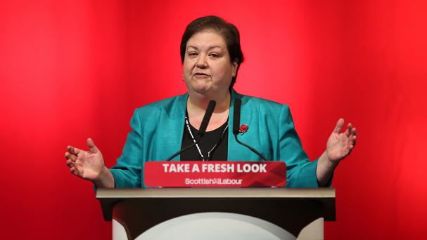 Jackie Baillie criticised the practice of