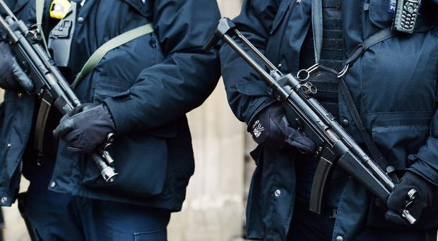 Greek anti-terror police have been sent to Alexandroupolis following the arrest of two armed Britons near the border with Turkey