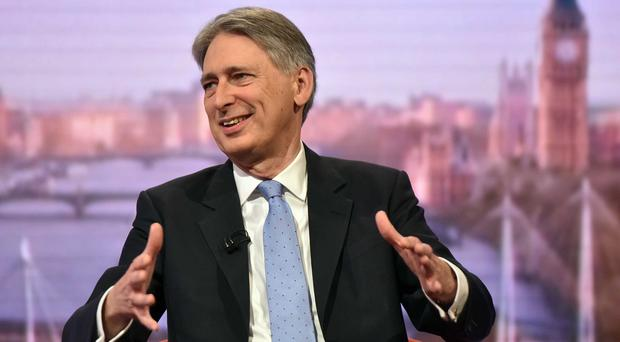 Philip Hammond told The Andrew Marr Show that Russian warnings of a new 'world war' if states such as Saudi Arabia intervened on the ground in Syria were 'gross exaggeration' (PA/BBC)