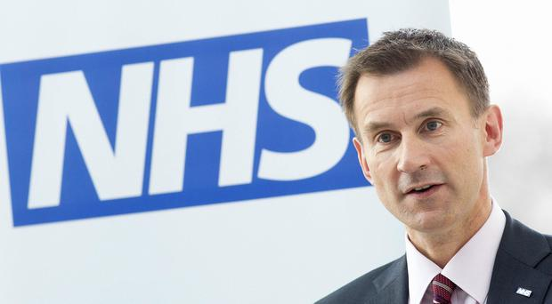 A drinks event with Jeremy Hunt was cancelled for security reasons, Conservative officials said
