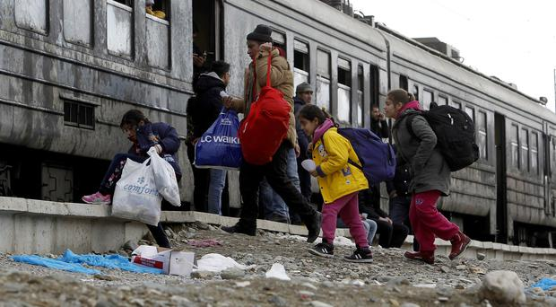 Brussels was unprepared for the refugee crisis, according to a House of Lords report (AP)