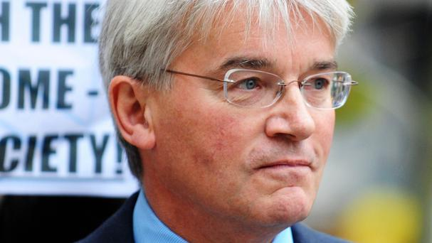 Andrew Mitchell pointed out that only one of the hospitals was in an Isil-controlled area