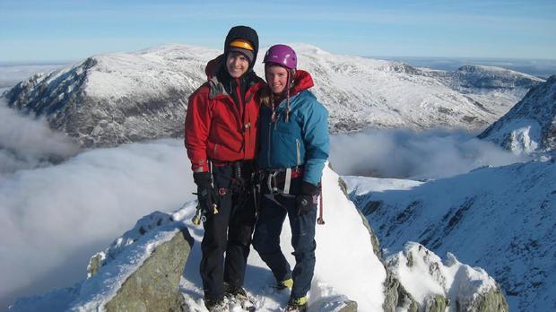 Rachel Slater and Tim Newton are believed to be missing on Ben Nevis (Police Scotland/PA Wire)