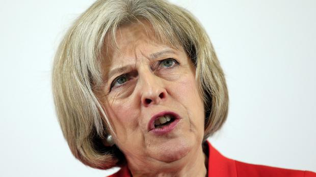 Home Secretary Theresa May will say tackling terrorism is the 'challenge of our generation'