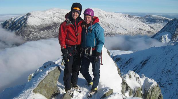 Tim Newton and Rachel Slater are missing on Ben Nevis (Police Scotland/PA Wire)