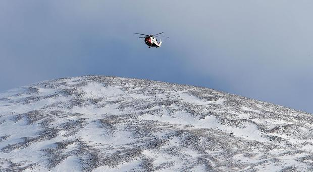 Rescuers were sent after an avalanche north of Lochaber