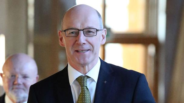 Deputy First Minister John Swinney has travelled to London for further discussions on the funding proposals